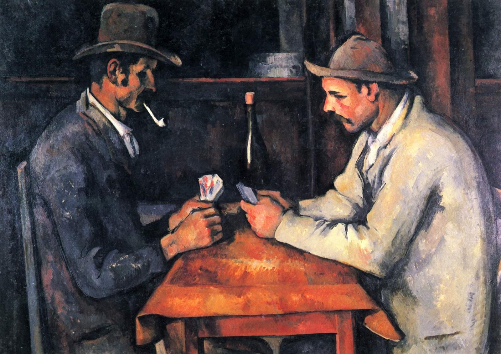 card players, cezanne, 03
