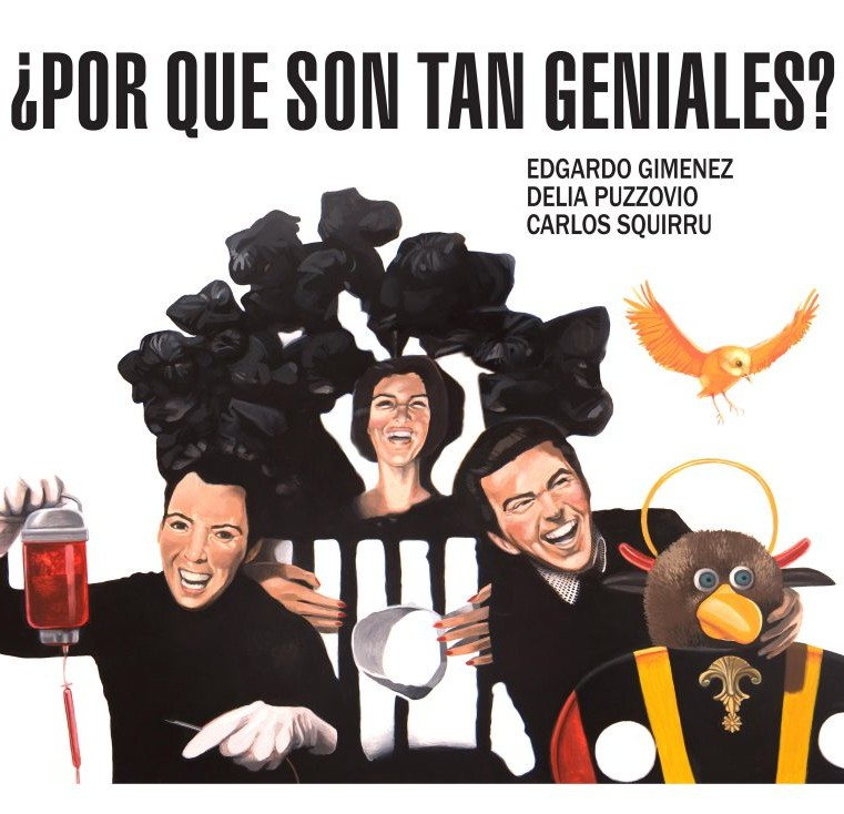 Edgardo Giménez, Dalila Puzzovio y Charlie Squirru, ¿Por qué son tan geniales?, 1965.